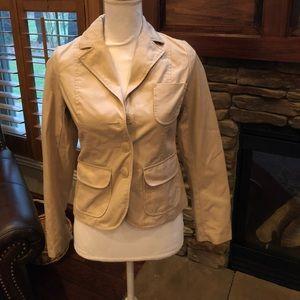 Old navy khaki jacket size XS